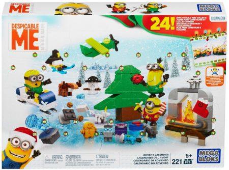Mega Bloks Minion Movie Advent Calendars For Kids