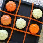 DIY Pumpkin Tic Tac Toe Board