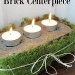 Rustic Brick Centerpiece