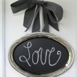 This Upcycled Serving Tray Chalkboard is a charming way to display messages in your home. It's also an easy DIY project that is quite inexpensive to make!