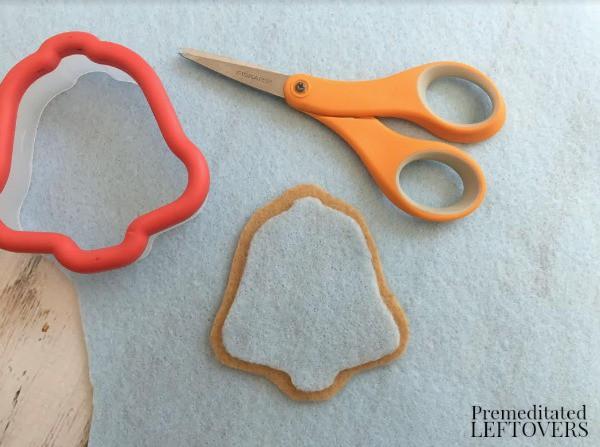 Felt Christmas Cookies- cut felt pieces