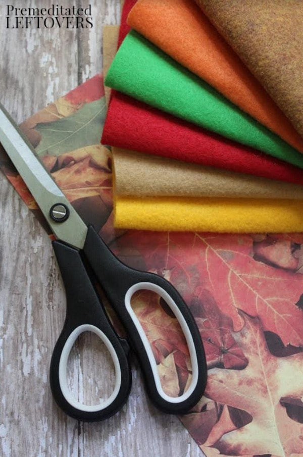 Fall Felt Tree Craft- materials needed