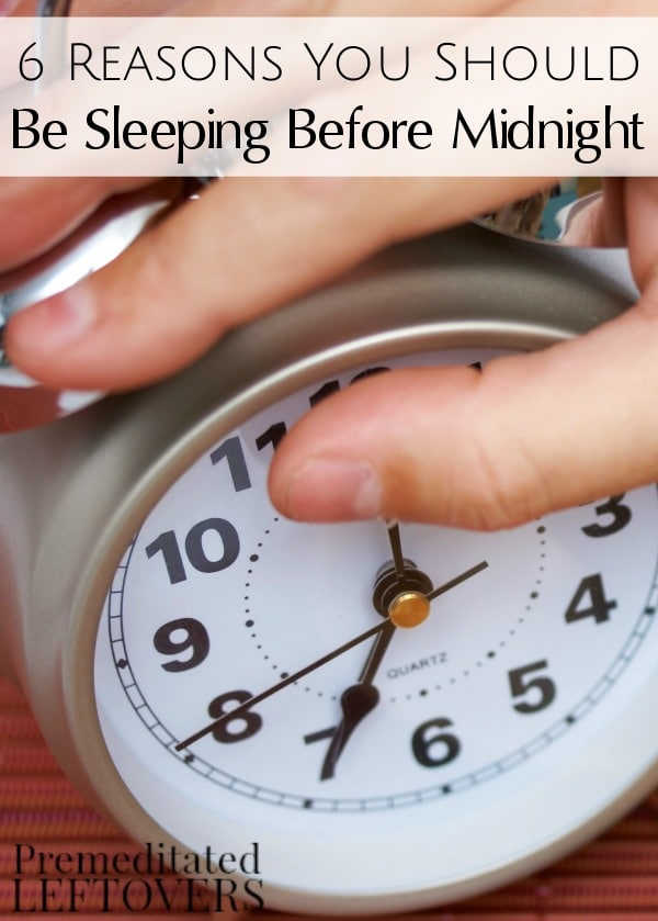 Though it may seem impossible, we can't deny the benefits of getting to bed at a decent time. Here are 6 Reasons You Should Be Sleeping Before Midnight.