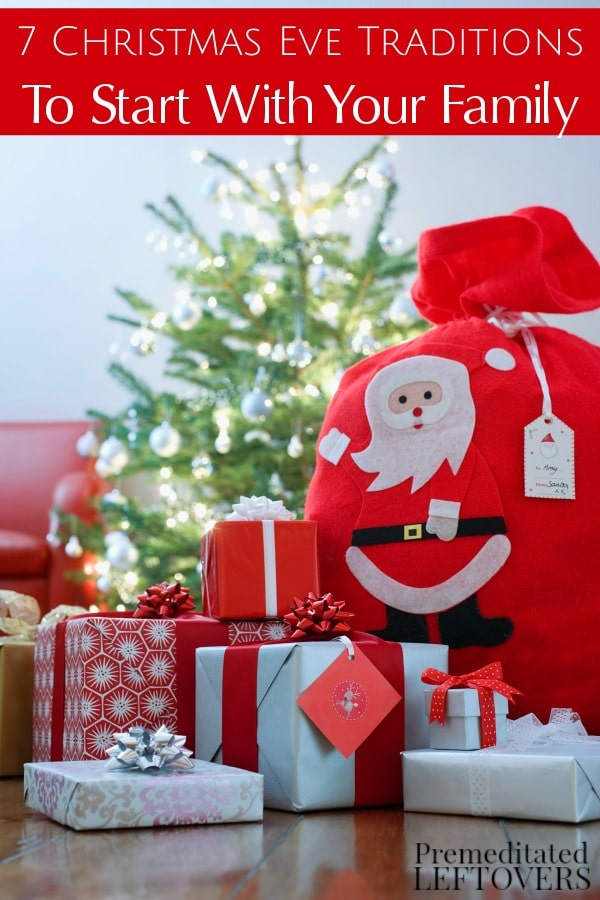Christmas is an ideal time for family traditions. These 7 Christmas Eve Traditions to Start with Your Family will give you some fun and frugal ideas!