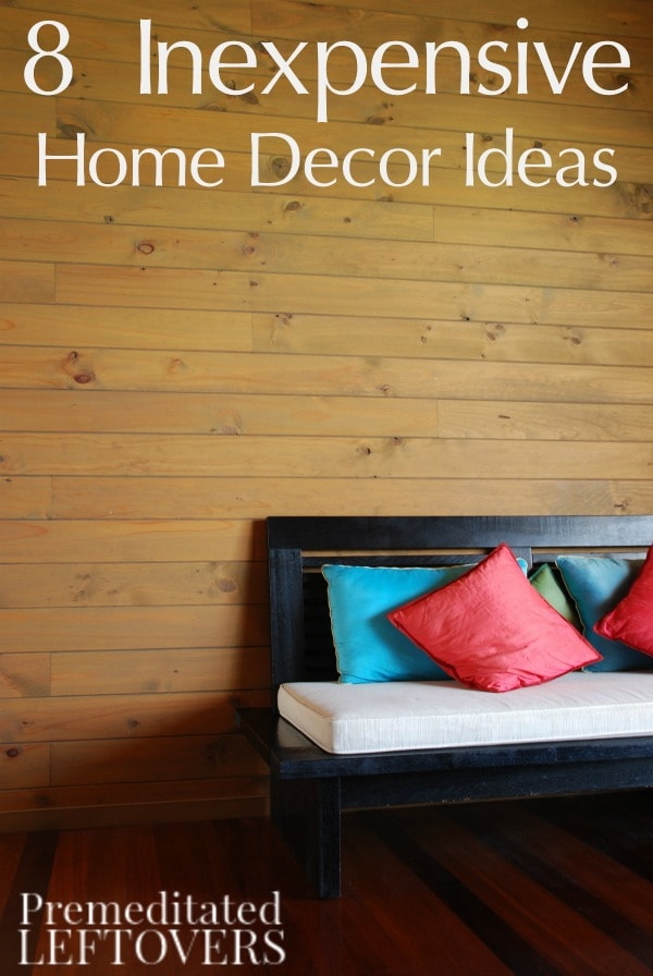 These 8 Frugal Home Decor Ideas are just what you need to revamp your home on a budget! Check out our simple tips and begin decorating your space today!
