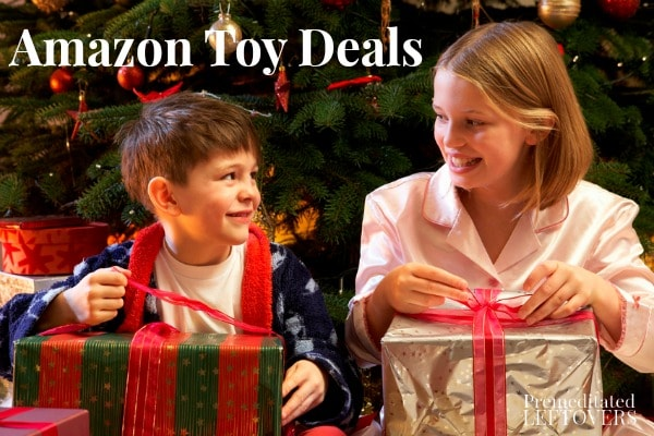 Check out this list of Amazon Toy Deals to see if you can save money on the toys on your kids wishlist. Updated daily with the best toy sales from Amazon.