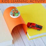 This Building Bridges Activity is a fun, learning experiment for kids. Make these simple bridges to teach your kids some basics of engineering through play!