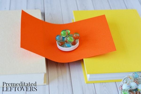 Building Bridges Activity- flat paper bridge