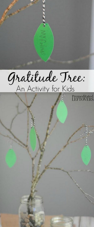 Gratitude Tree Activity for Kids Tutorial