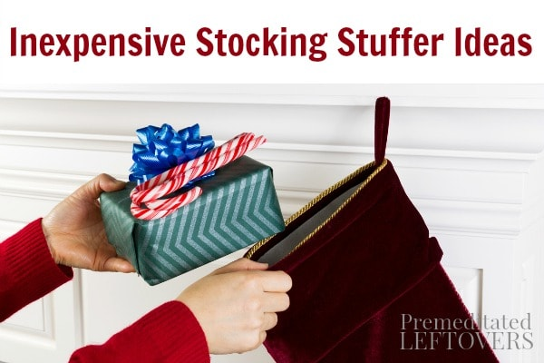 We are sharing Inexpensive Stocking Stuffer Ideas as we discover them. This will include small items that will easily fit in stockings for kids and teens.