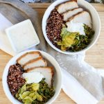 Red Quinoa and Pork Bowls