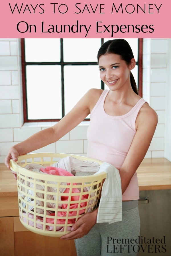 Here are 5 frugal Ways to Save Money on Laundry Expenses for your family. They include useful tips for reducing the cost per load and utilizing your washer.