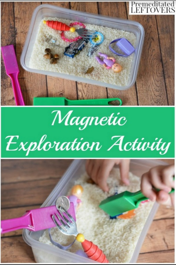 Not only are magnets fun, they can also be quite educational. This Magnet Science Activity for Kids is a great learning tool for children of all ages.