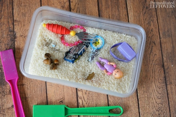 Magnet Science Activity for Kids- materials needed
