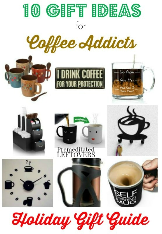 Gifts For Coffee Lovers are a must under my tree each year! Check out this amazing list today!