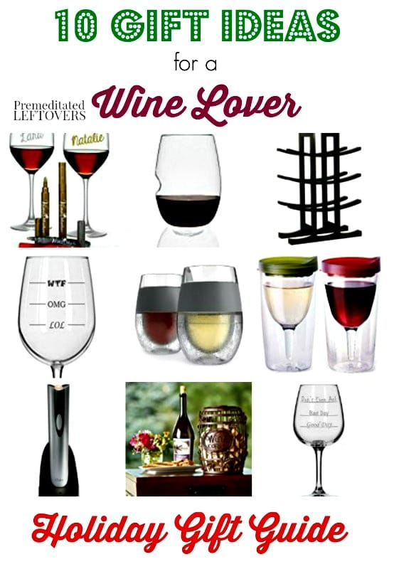 These 10 Gifts For Wine Lovers are perfect for gifting. From fun glasses to storage racks and everything in between, this list is a great place to begin!