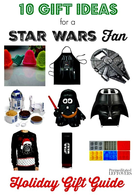 Star Wars Gifts are ideal for any person and any occasion! Check out our top 10 Star Wars Gifts Ideas for this holiday season!