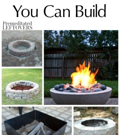 Check out these 15 DIY Fire Pits You Can Build for a great addition to your backyard! These inexpensive tutorials can be completed in just a few hours!