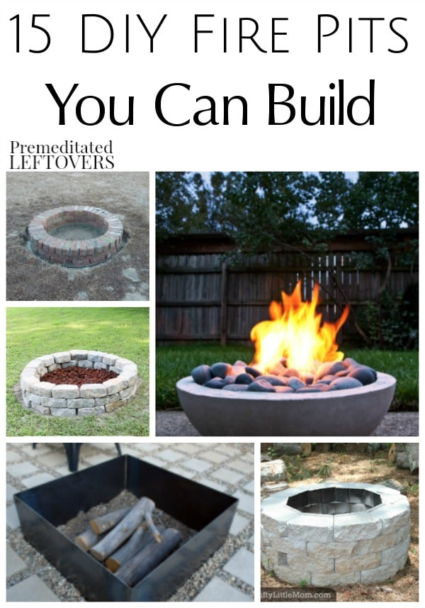 15 Fire Pits You Can Build