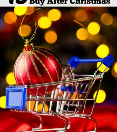 Cash in on big discounts that stores offer by shopping after the holidays. Here are 15 Things You Should Buy After Christmas in order to save money.