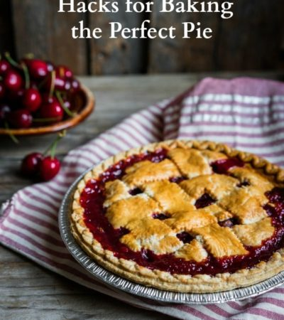 If you are baking pies this holiday season, use these 7 Hacks for Baking the Perfect Pie. They will look amazing with these helpful tips!