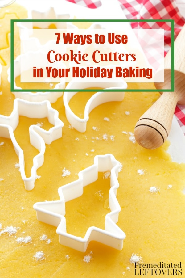 Cookie cutters can be used for so much more than just sugar cookies. Check out these 7 Ways to Use Cookie Cutters in Your Holiday Baking this year.