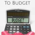 Budget Planner: How to Get Your Spouse to Budget