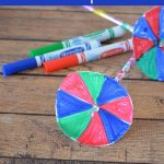 This Color Spinner Science Experiment for Kids is a fun activity that combines learning and play. It is a great way to teach kids about the primary colors.
