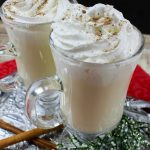 Make this Easy Eggnog Cocktail recipe for your friends and family this Christmas. It's a twist on a classic that adds tons of flavor to a simple recipe!