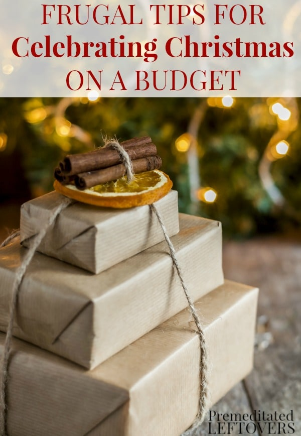 If you are trying to save money this holiday season, consider this your Frugal Christmas Guide! Here are frugal tips for celebrating Christmas on a budget including money saving tips for Christmas presents, Christmas decor, and holiday food.