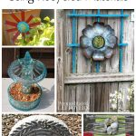 Garden Art Ideas Using Recycled Materials