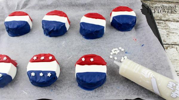 Non-Partisan Voter Button Chocolate Covered Oreos Recipe