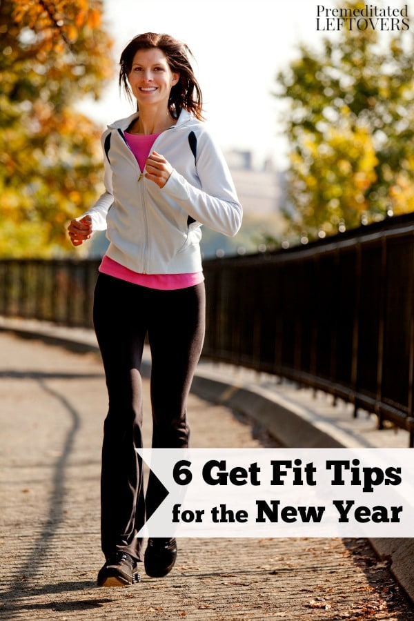Here are 6 Get Fit Tips for the New Year that wont cost you a lot of time or money. Give them a try in order reach new health and fitness goals.