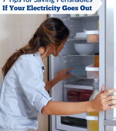 It's important to keep food safe and avoid spoilage when you lose power. These 7 Tips for Saving Perishables If Your Electricity Goes Out will show you how.