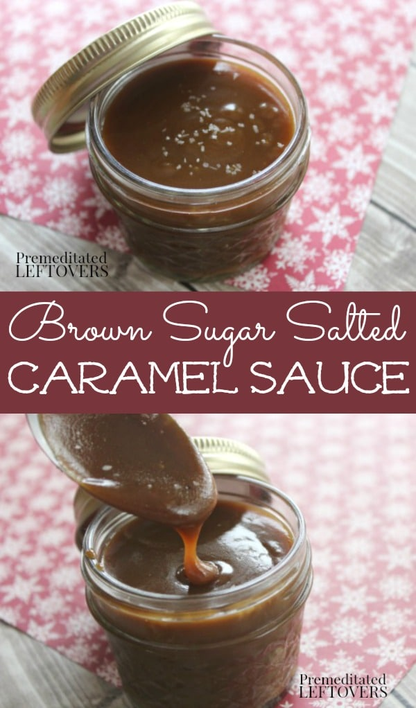 Brown Sugar Salted Caramel Sauce Recipe