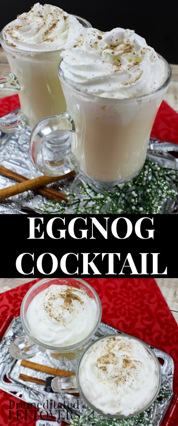 Easy eggnog cocktail recipe for Simple alcoholic drink recipes