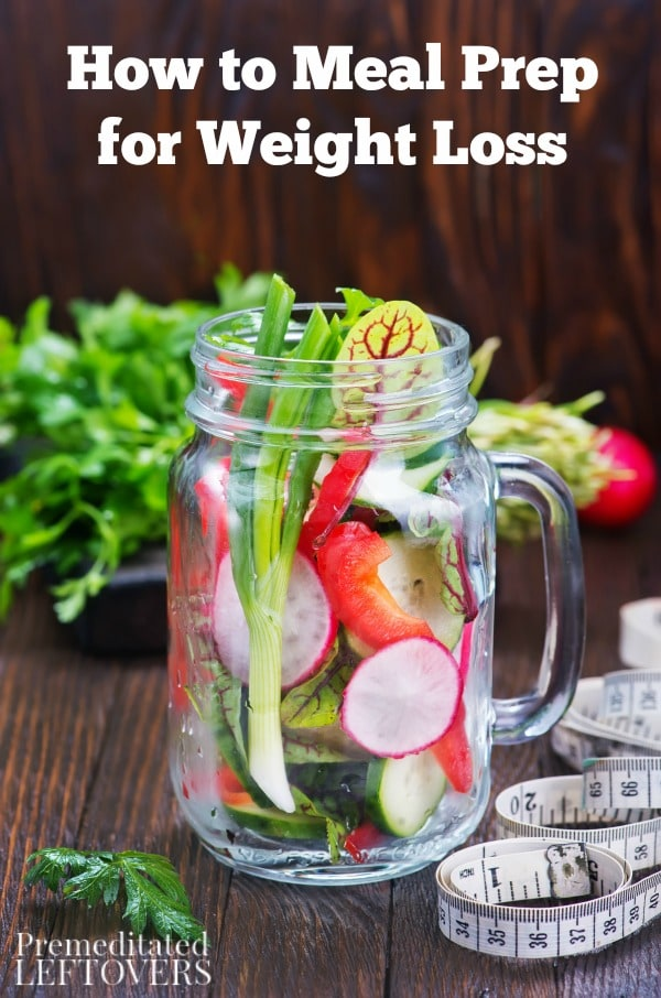 Trying to lose weight? These tips on How to Meal Prep for Weight Loss will help you save money, plan out nutritious meals, and avoid unhealthy temptations.