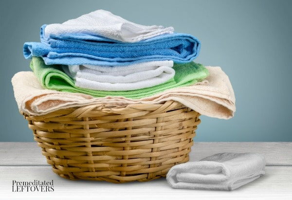 In How to Manage Your Home without Losing Your Mind, Dana recommends having one day a week where you do all the laundry