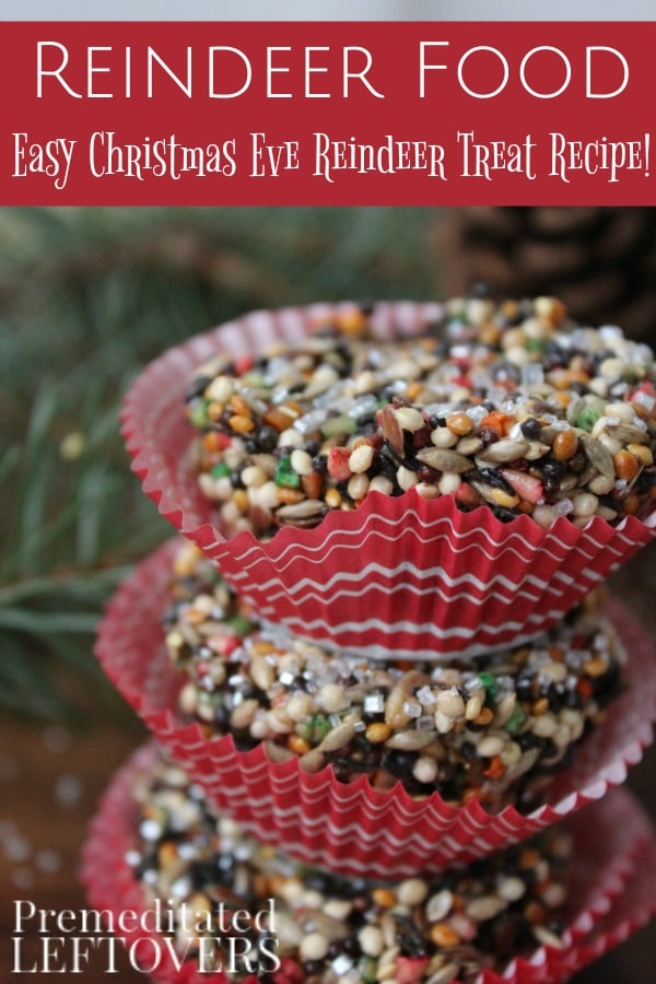 Make This Easy Reindeer Food Recipe With Your Kids To Put Outside On Christmas Eve