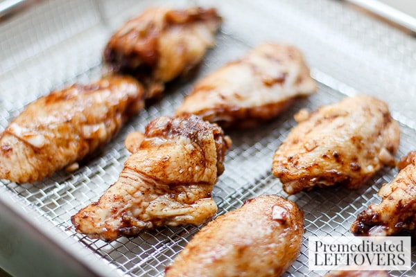Sweet and Spicy Chicken Wings- bake in oven