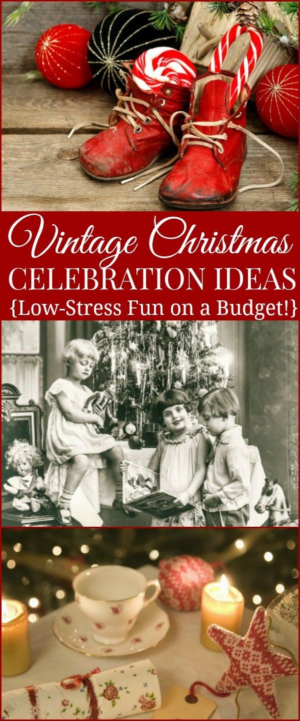 Old Fashioned Christmas Decorating Ideas