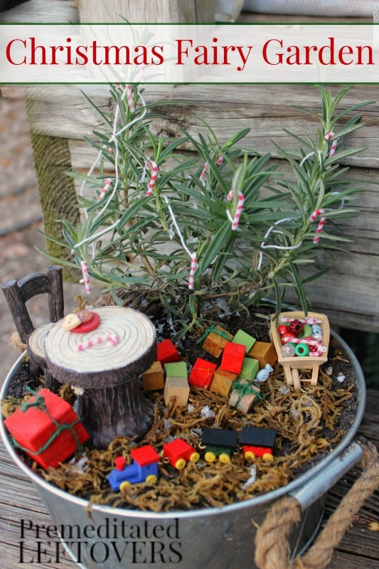 kids will love making this christmas fairy garden to celebrate the magic and wonder of the