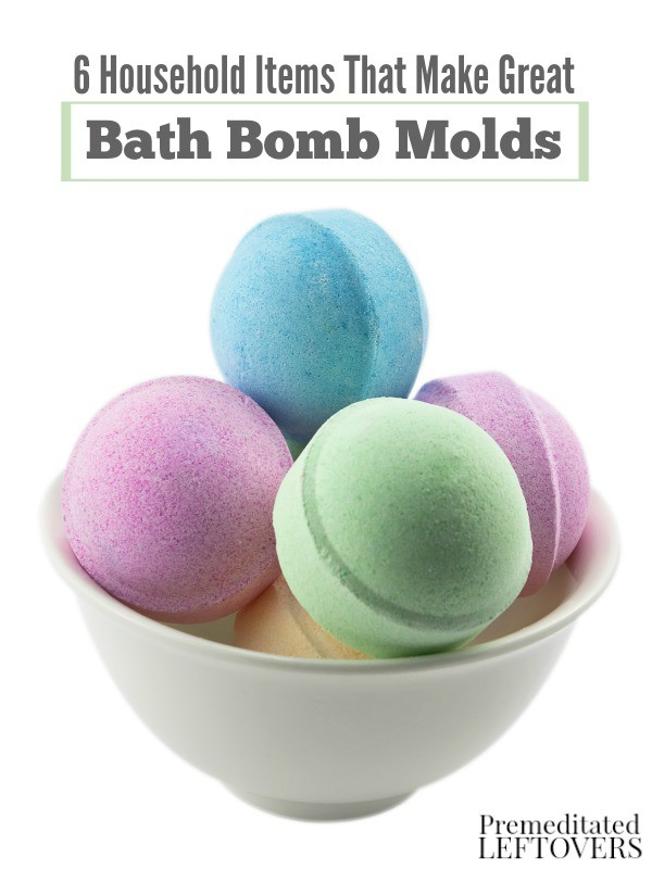6 household items that make great bath bomb molds - Household items use ...