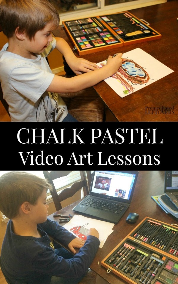Chalk Pastel Video Art Lessons for Kids
