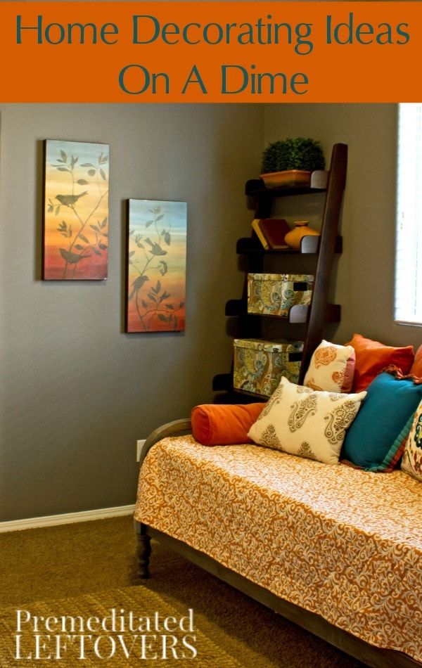 Home decorating ideas on a dime for Decorate my photo