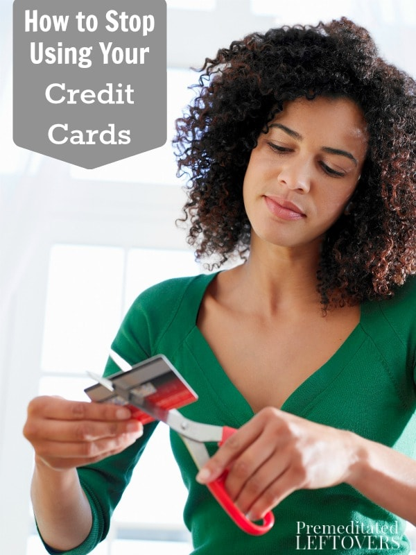 Here are 6 money savvy tips on How to Stop Using Your Credit Cards. Gaining independence from them will do amazing things for your finances!