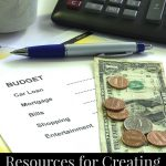 Resources for Creating a Budget Plan