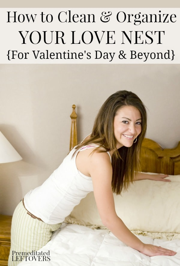 How to clean your love nest february cleaning checklist - How to clean and organize a bedroom ...