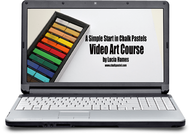 A Simple Start in Chalk Pastels Video Art Course