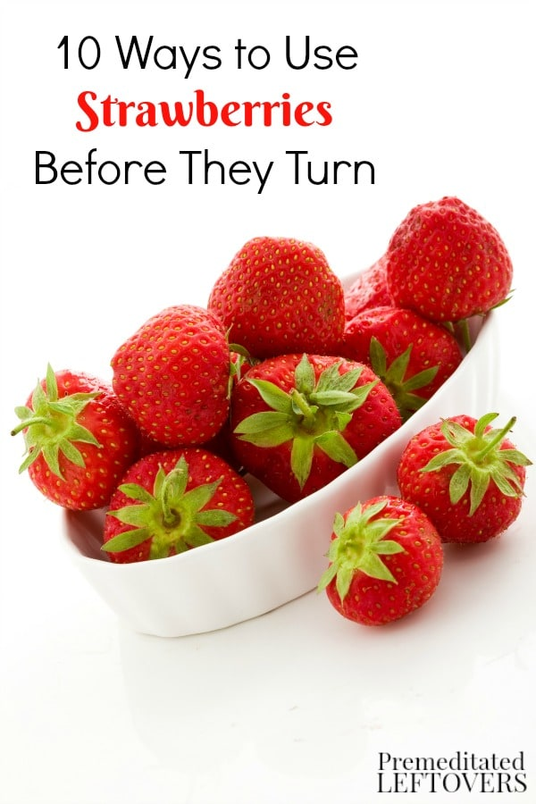 Be sure to enjoy your sweet, juicy strawberries before they go bad. These 10 Ways to Use Strawberries Before They Turn include delicious and fun ideas!
